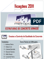 Controle de Qualidade e Ensaios de Concreto