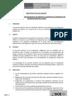DIRECTIVA Nº 019-2012-OSCE