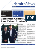 Goldsmith News