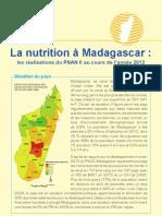 La nutrition à Madagascar