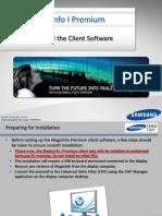 MagicInfo I Premium - Installing the Client 9-25-12