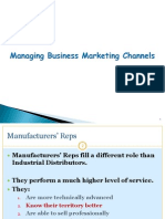 Business Mktg Channels