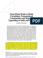 From Brain Drain to Brain Gain