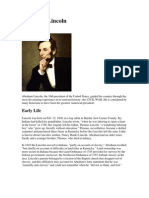 Lincoln Biography