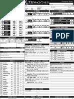 D&D 4E Character Sheet