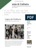 Lógica da Violência _ Cidadania & Cultura