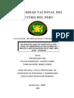 Influencia Banco de Cuentos