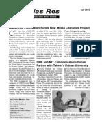 In Medias Res, Fall 2005
