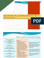 Sociedad Del Conocimiento Tic y Educacin3910