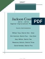 2014-2018 Jackson County Capital Improvement Program