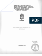 MANUAL DE LAS PRÁCTICAS PROFESIONALES DE LA UNEFA