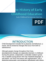The History of Early Childhood Education unit one handout.ppt