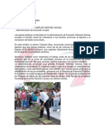06-08-13 PLAZAS PÚBLICAS CUMPLEN SENTIDO SOCIAL