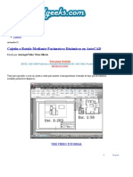 Cajetin o Rotulo Mediante Parámetros Dinámicos en AutoCAD _ CivilGeeks