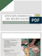 Atención Inmediata del Recién Nacido.pptx