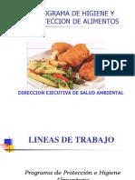 Prog de Hig y Prot de Alimentos- Disa III Lima Norte