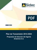 Propuesta de Solucion de Antamina Para El Plan de Transmision 2015-2024