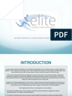 Sports Specific Conditioning Programme