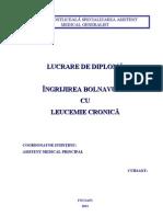 Leucemie Cronica