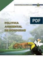 Politica Amabiental de Honduras