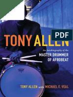 Tony Allen by Tony Allen with Michael Veal