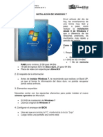 06. Instalacion de Windows 7