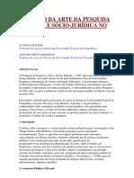 O ESTADO DA ARTE DA PESQUISA - João Mauricio Adeodato.pdf