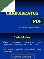 4ª aula  Carboidratos Geral