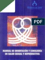 Manual de Concejeria y Orientacion en Salud Reproductiva