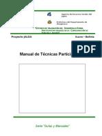 Manual Tecnicas Participativas
