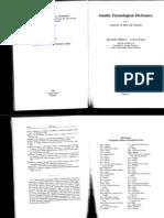 Excerpts from Militarev & Kogan's Semitic Etymological Dictionary (vols I & II)