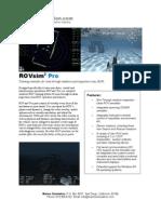 ROVsim2 Pro Flyer
