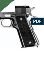 Catálogo de armas de fuego en 1920
