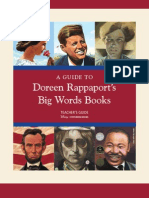 Big Words series teaching guide
