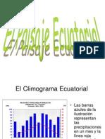 Presentación paisaje ecuatorial