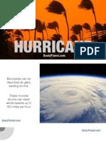 Hurricane - Natural Disaster