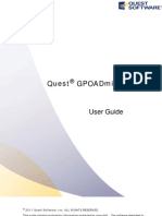 GPOADmin User Guide