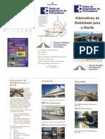 Folder Alternativas de Mobilidade Para o Recife