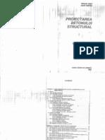 Proiectarea Betonului Structural - OnET, Tertea 1995
