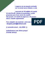 baixar, download lista de PONTA - MS PORÁ cidade , email , emails , mailling , banco de dados