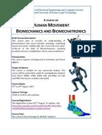 Human Biomechatronics