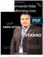 Transformando Vidas Agosto 2013