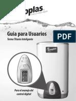 Manual Terma Titanio Inteligente - Rotoplas