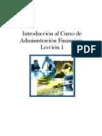 Administración Financiera - Susana
