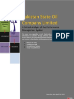 PSO Report by Mansoor Ali Seelro (Performance Management)