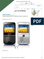 Flashear Samsung Galaxy Y Pro GT-B5510L - Taringa!