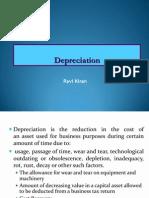 Depreciation Rk