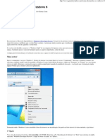 Como Desinstalar o Windows 8