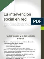 Intervencion en Red