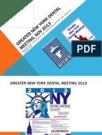 Conferencias del Colegio de Odontólogos de Nuevo Leon AC en New York